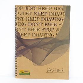 Tập Vẽ Cao Cấp Sketch Book (26x36cm) - Mẫu 2