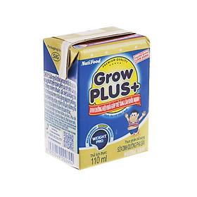 Thùng 48 Hộp x 110ml Sữa Bột Pha Sẵn GrowPLUS+ Xanh 110ml Tăng Cân Khoẻ Mạnh - Hàng Chính Hãng