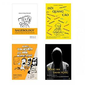Combo Bí kíp Quảng cáo Bán hàng (Salesology - Đời quảng cáo - Bóng ma danh vọng - Phòng thí nghiệm của nhà quảng cáo + hộp)
