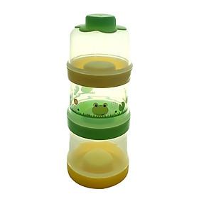 Hộp chia sữa 3 tầng tách riêng, kèm nắp AM55501 - Thái Lan.