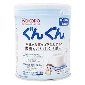 Sữa Bột Wakodo Nội Địa Gungun Infant Formula Dành Cho Trẻ Từ 9 - 36 Tháng Tuổi (830g)