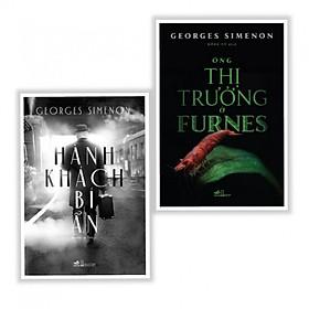 Combo 2 Cuốn Sách Văn Học Hay - Hành Khách Bí Ẩn + Ông Thị Trưởng Ở Furmes - (Tặng Kèm Bookmark Phương Đông)