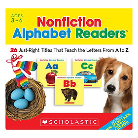 Nonfiction Alphabet Readers With Cd (Student Pack)