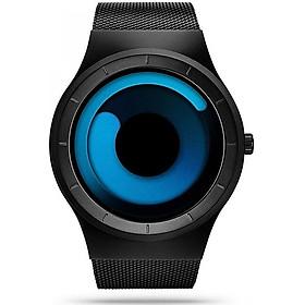 Gets Men Wrist Watch Stainless Steel Mesh Unique Design Watch Cool Aurora Dress Watches