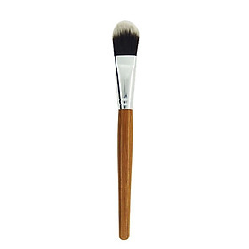 Bamboo Handle Mask Brush Foundation Brush Cosmetic Tool Concealer BB Cream Foundation Liquid Brush Makeup Tool 1Pcs