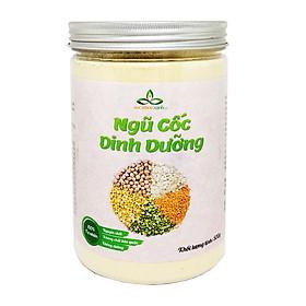 Bột ngũ cốc dinh dưỡng SKX hộp 500g (gồm bột đậu gà - lăng đỏ - hà lan vàng - hà lan xanh - yến mạch)
