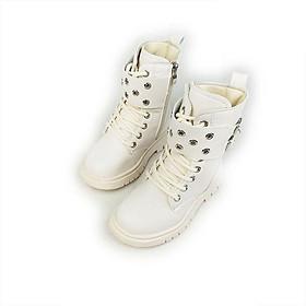 Giày boot cao cổ 2 khóa 3218