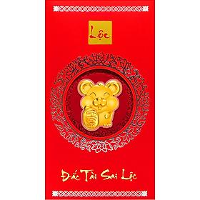 Bao lì xì vàng 24K Kim Tý 2020 - Mẫu 4 - ANCARAT
