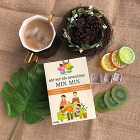 Bột Ngũ Cốc Dinh Dưỡng Min Min 500g  - Ngũ Cốc Lợi Sữa Min Min Từ 18  Loại Đậu+ Hạt Cao Cấp (Mẫu Mới )