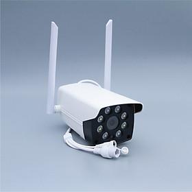 Camera wifi ngoài trời Carecam CV988H 3.0MP Full HD, quan sát cố định, 4 led hồng ngoại, đàm thoại 2 chiều, hỗ trợ thẻ nhớ lên đến 128G, 2 anten, cảnh báo chống trộm- Hàng nhập khẩu