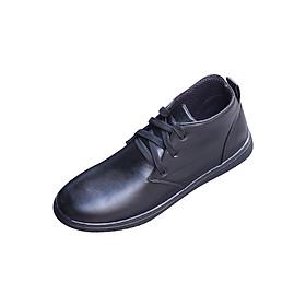 Combo Giày Boot Cổ Lửng - Đen Nhám