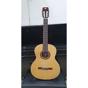 Đàn guitar classic MKC135, thùng tròn, size 4, vân gỗ, Việt Nam, kèm bao da 3 lớp, bộ dây