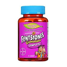 Flintstones Gummies Children's Multivitamins, Kids Vitamin Supplement with Vitamins C, D, E, B6, and B12, 70 Count