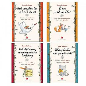 Combo Ở nơi xa tít mù khơi - Những lá thư nhờ gió gửi ai đó - Sinh nhật ở rừng và những cuộc vui tưng bừng - Một cuộc phiêu lưu ra trò và rắc rối ( Bộ sách Tool Tellegen ) + Quà tặng bất kỳ