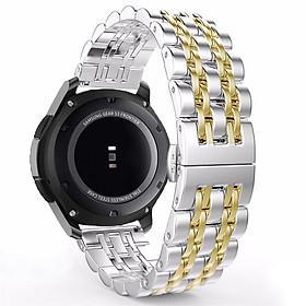Dây Thép Mắt Xích Đúc Cho Đồng Hồ Samsung Galaxy Watch Active 2, Galaxy Watch 42 (Size 20mm)