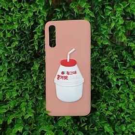 Hình đại diện sản phẩm Ốp Dẻo Trà Sữa Cho Samsung A70