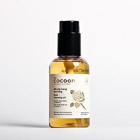 Dầu tẩy trang hoa hồng cocoon 140ml (rose cleansing oil) sạch da, mềm mịn