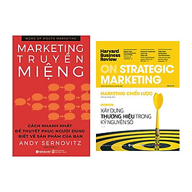 Combo Sách Về Marketing: Marketing Truyền Miệng + Harvard Business Review ON - Marketing Chiến Lược