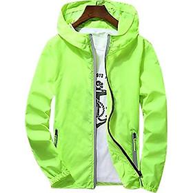 Men/Women Waterproof Windbreaker Jacket Hoodie Casual Sports Outwear Coat