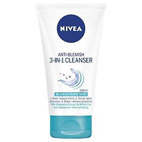 Nivea Visage Anti Blemish 3 in 1 Cleanser 150ml