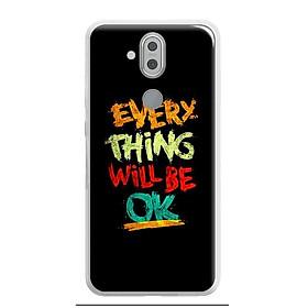 Ốp điện thoại cho Nokia 8.1 ( Nokia X7 2018)  - 0198 EVERYTHINGOK - Silicon dẻo - Hàng Chính Hãng