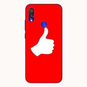 Ốp lưng điện thoại Xiaomi Redmi 7 hình Bạn là Số 1 - Hàng chính hãng