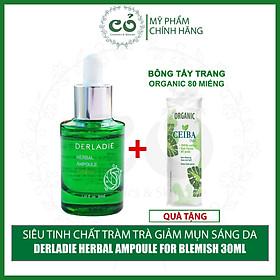 Siêu Huyết Thanh Giảm Mụn Từ Tràm Trà Derladie Herbal Ampoule For Blemish 30ml