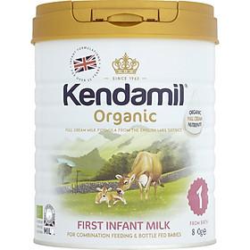 Sữa Kendamil Organic số 1 800g dành cho bé từ 0-6 tháng