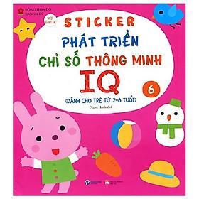 Sticker Phát Triển Chỉ Số Thông Minh IQ - Tập 6