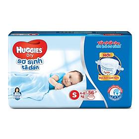Tã dán sơ sinh Huggies mới size S gói 56 miếng