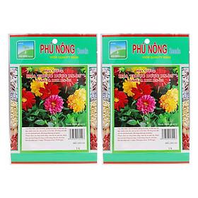 Bộ 2 Gói Hạt Giống Hoa Thược Dược Phú Nông (10 Hạt / Gói)