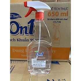 Dung dịch rửa tay khô On1 650ml dạng xịt phun xương