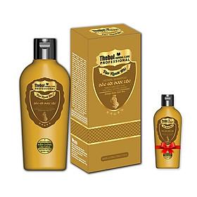 Dầu gội hỗ trợ trị gàu mượt tóc chiết xuất từ dược liệu sạch  Thebol vạn người mê 175g (combo 2 chai)