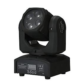 Đèn Led Sân Khấu RGBW 4in1 Ánh Sáng Tự Động DMX512 (AC110-240V) (80W)