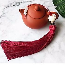 Tua rua hoa sen treo sáo trần tình lệnh móc khóa ma đạo tổ sư ngọc bội hoa sen tặng ảnh thiết kế vcone