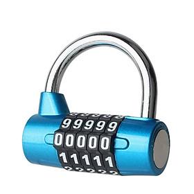 Ổ khóa an toàn, tiện lợi, dễ sử dụng, nhiều màu sắc  với 5 số giúp người sử dụng an tâm - lk 1984 - màu ngẫu nhiên