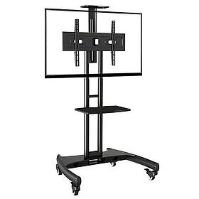 Giá treo tivi di động AVA1500-60-1P hàng chính hãng màu đen sang trọng