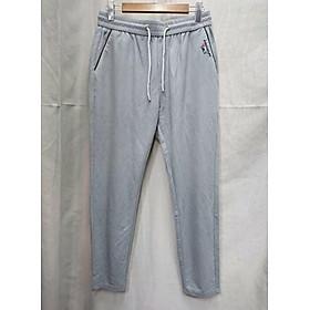 Quần Jogger Nam Nữ đơn giản thêu họa tiết logo gần túi mang phong cách Âu Mỹ chất liệu vải lanh cao cấp co giãn nhẹ dễ phối đồ hợp thời trang HOT TREND (K-8025)