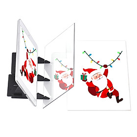 Optical Drawing Tracing Board Portable Sketching Painting Tool Animation Copy Pad No Overlap Shadow Mirror Image