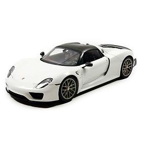 Xe Mô Hình Porsche 918 Spyder Weissach Package 1:18 Autoart - 77926 (Trắng)