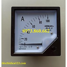Đồng hồ hiển thị dòng điện Ampe 6L2-A - Ampe kế