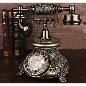 ĐIỆN THOẠI BÀN TÂN CỔ ĐIỂN PHONG CÁCH CHÂU ÂU (DÙNG SIM DI ĐỘNG)
