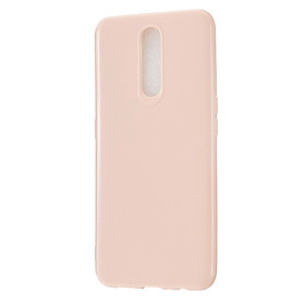 For OPPO F11/F11 Pro Cellphone Cover Glossy TPU Simple Profile Bumper Protective Mobile Phone Case