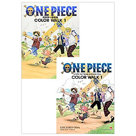 Combo Song Ngữ One Piece Color Walk - Tập 1