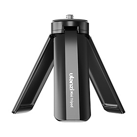 Ulanzi MT-15 Mini Handheld Tripod Portable Hand Grip Desktop Tripods Stand with Universal 1/4 Extending Screw for