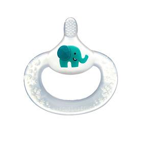 Bàn chải đánh răng kiêm gặm nướu silicon cho bé từ 6 tháng Marcus & Marcus - Ollie