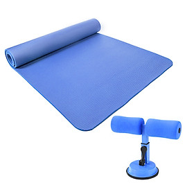 Eco-friendly and Tasteless Yoga Practice Mat with Sit-up Assistant Device Fitness Equipment Bodybuilding Yoga Mat