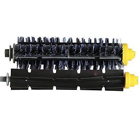 Bristle Brush+Rubber Brush for iRobot 610 660 780 780 790 Sweeper Machine