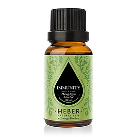 Tinh Dầu Phòng Ngừa Cảm Sốt Immunity Blends Essential Oil Heber | 100% Thiên Nhiên Nguyên Chất Cao Cấp