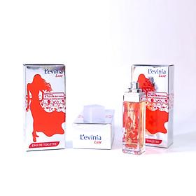 Nước Hoa Cao Cấp L'evinia EDT -  TẶNG Kem Tẩy Lông CARISA nhập khẩu trực tiếp từ Tây Ban Nha
